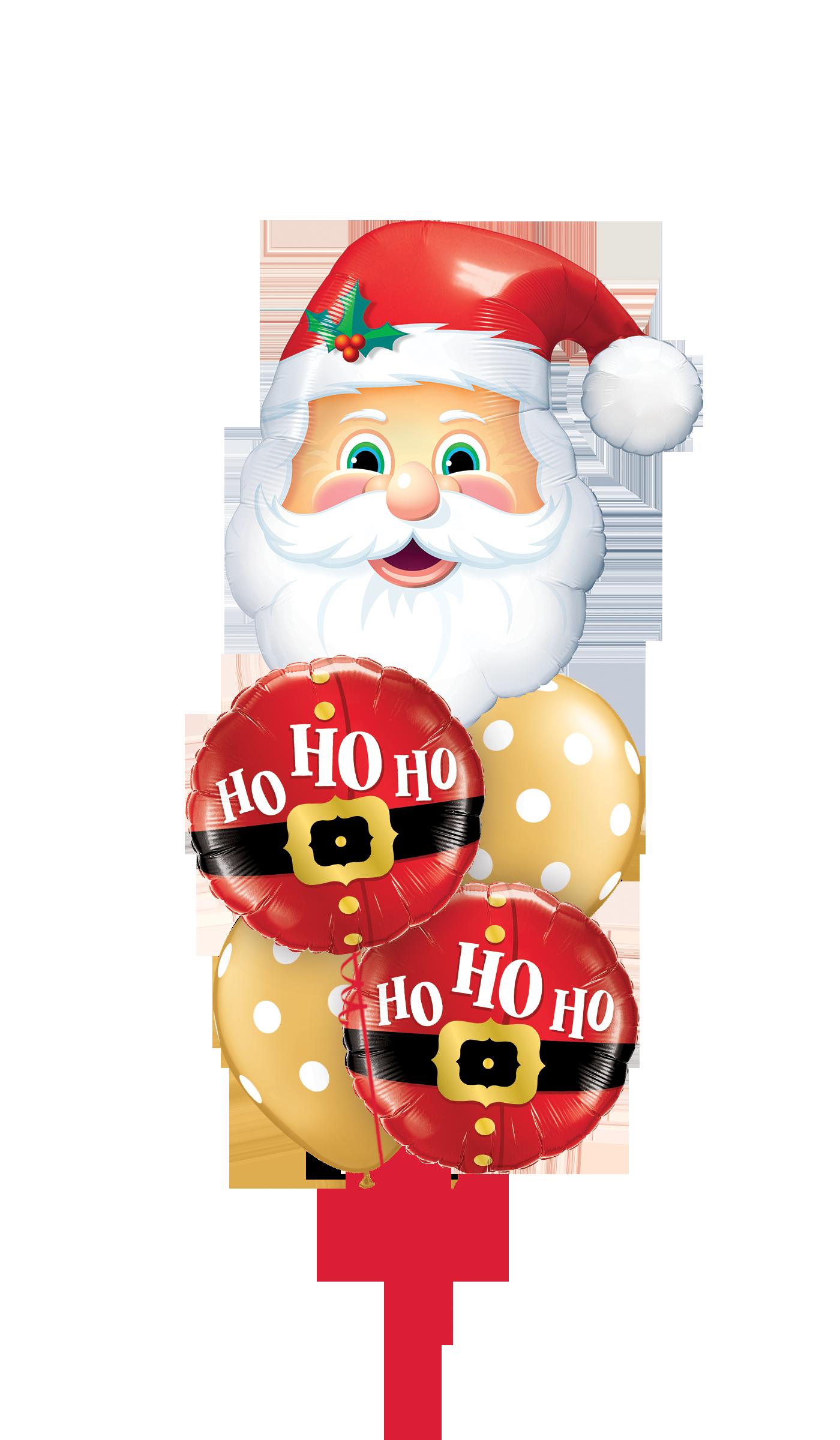 52120 20566 52958 Ho Ho Ho Santa Shape Staggered