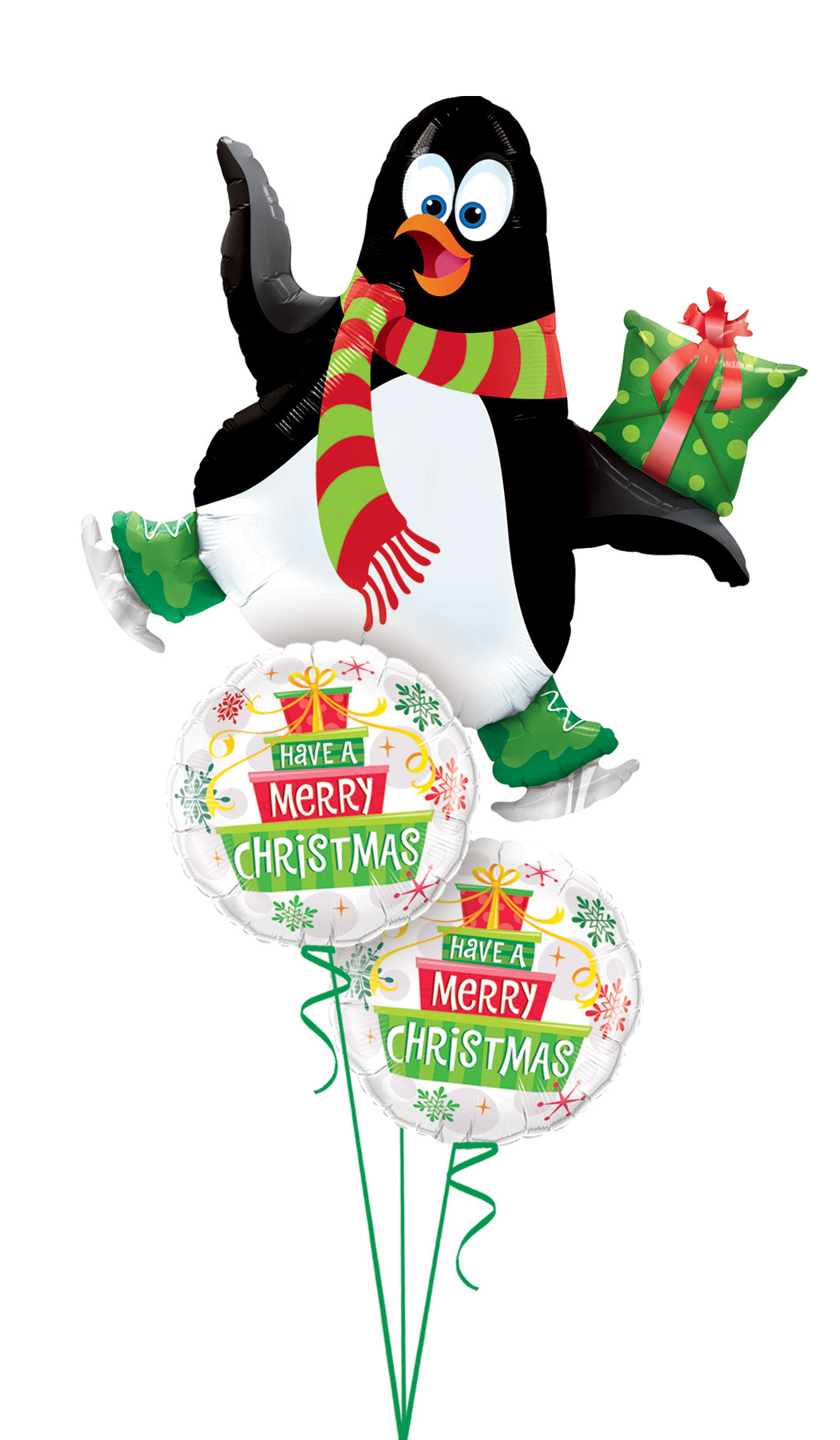 Jumbo Holiday Penguin