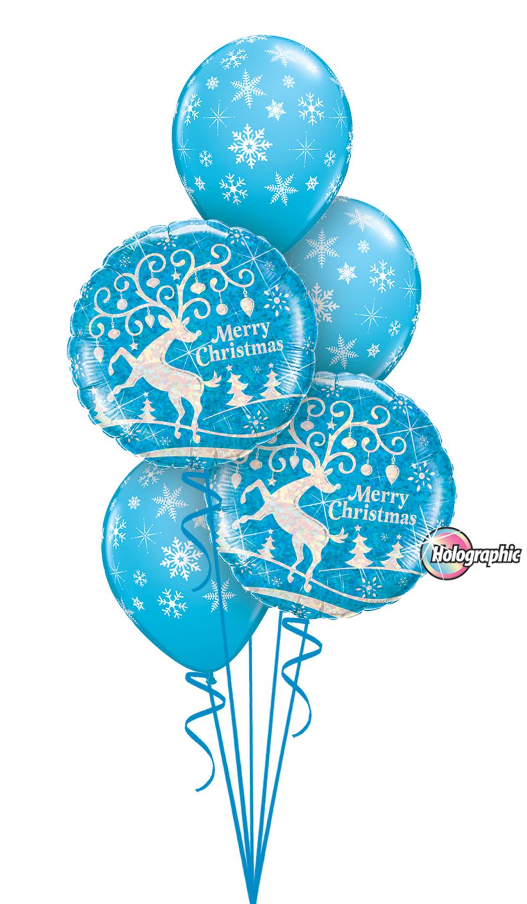 Ice Blue Christmas