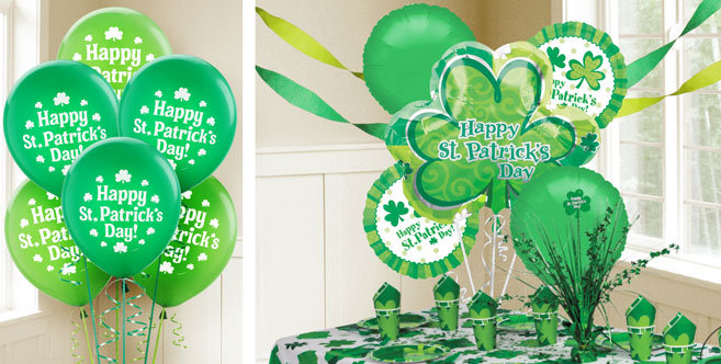 Patrick's Day balloons