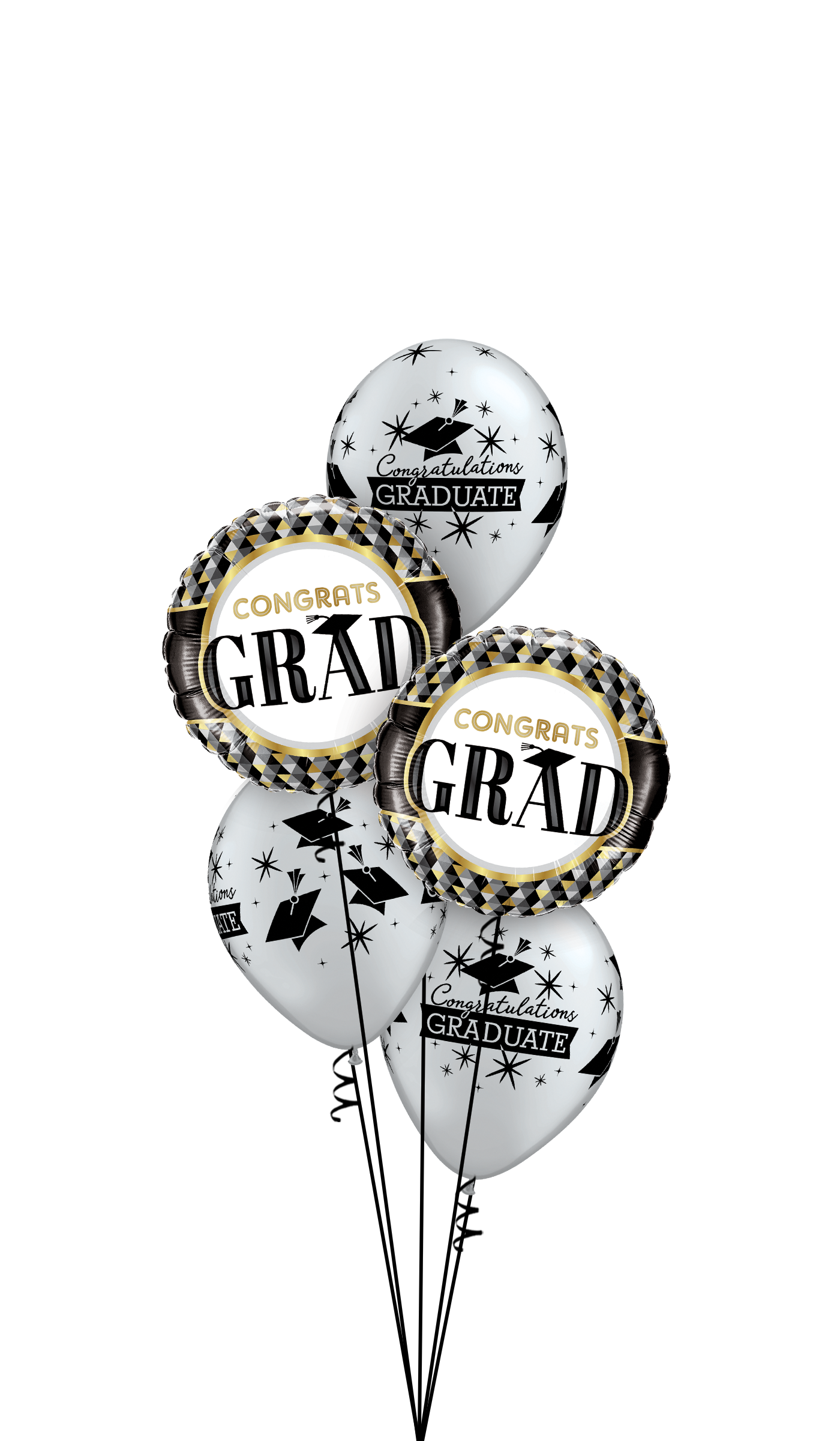 Balloonatics! Grad balloons