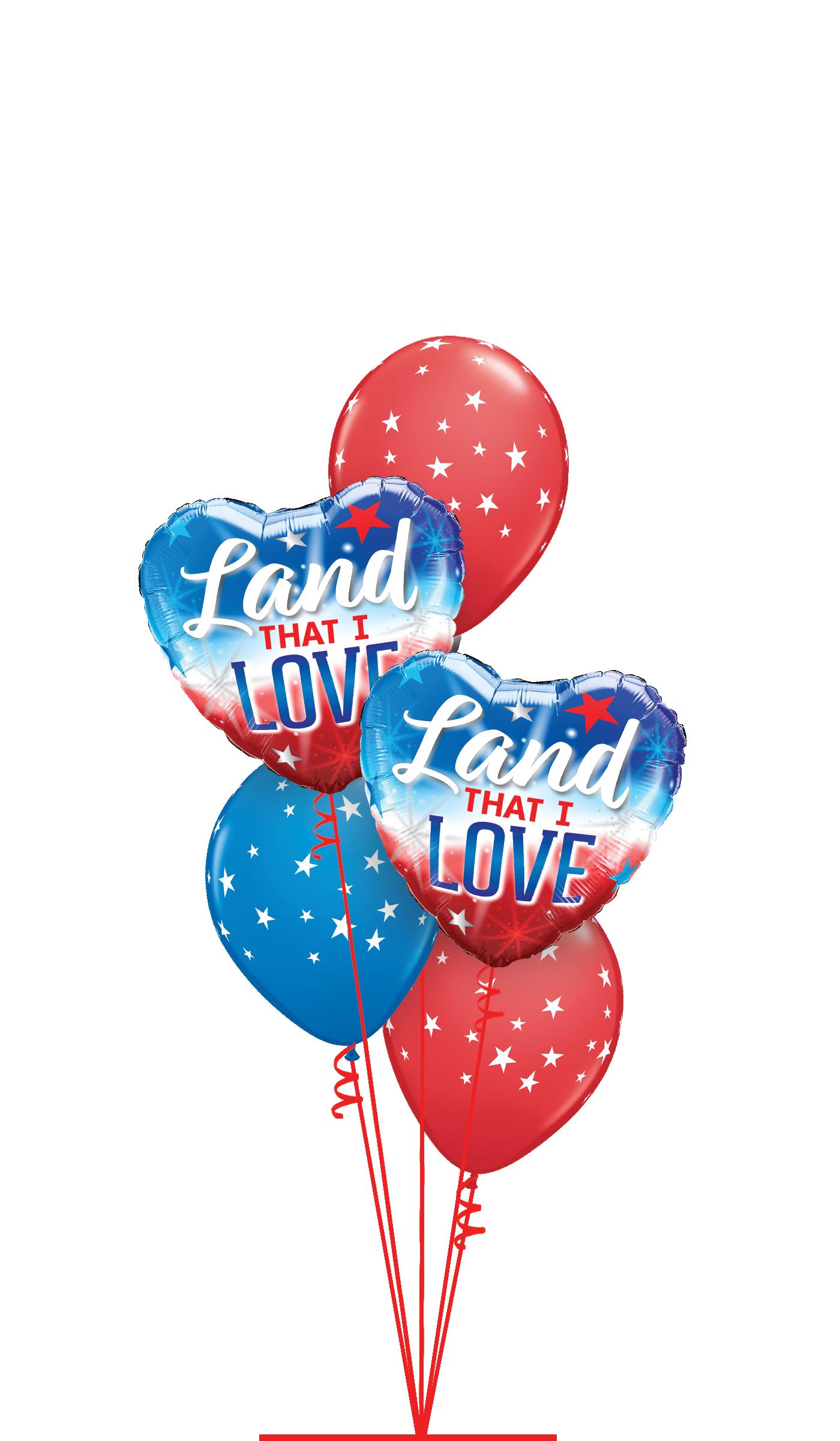Patriotic Theme Balloons